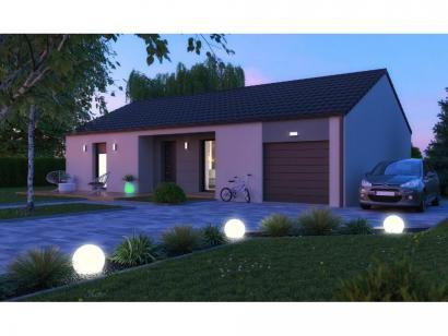 Maison neuve  à  Condé-Northen (57220)  - 213300 € * : photo 1