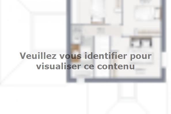 Plan de maison Inova 125 4 chambres  : Photo 2