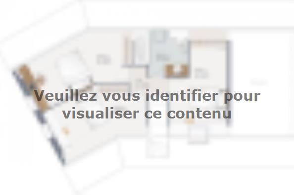 Plan de maison Inova 110 4 chambres  : Photo 2