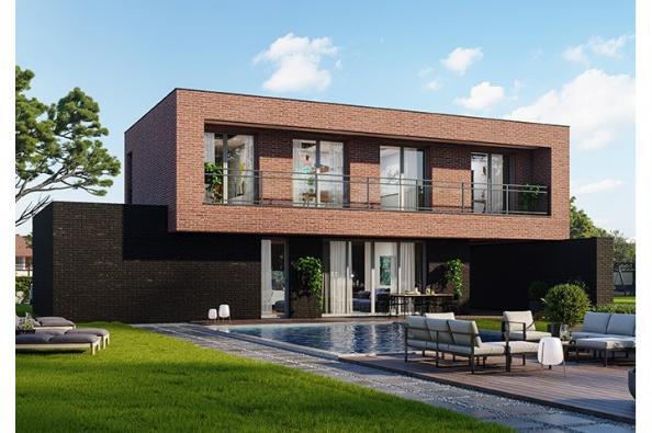 Modèle de maison Concept 120 Brique 4 chambres  : Photo 1