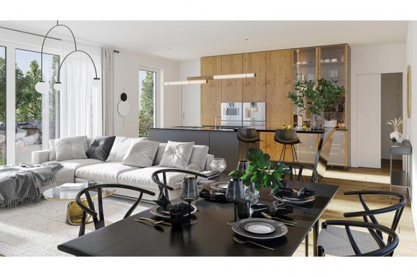Modèle de maison Concept 120 Brique 4 chambres  : Photo 2