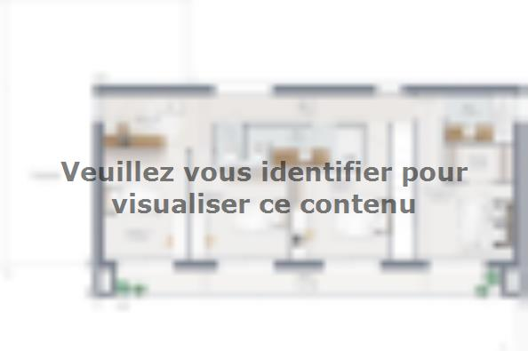 Plan de maison Concept 160 Brique 5 chambres  : Photo 2