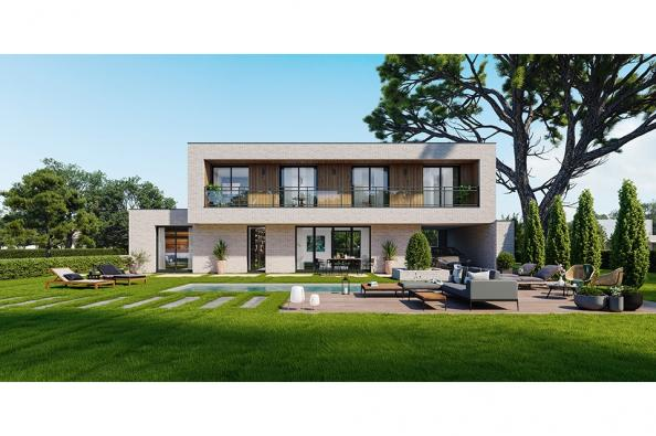 Modèle de maison Concept 160 Brique 5 chambres  : Photo 1