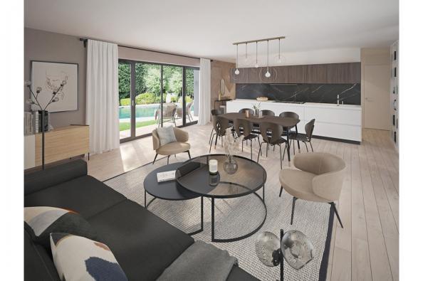 Modèle de maison Eco Concept 115 PP Brique 3 chambres  : Photo 2