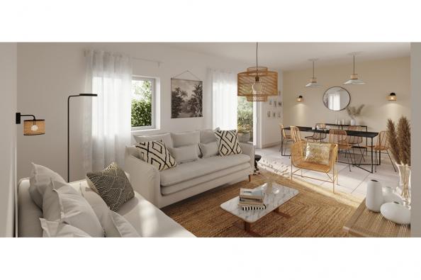 Modèle de maison Family 70 GA Brique 2 chambres  : Photo 2