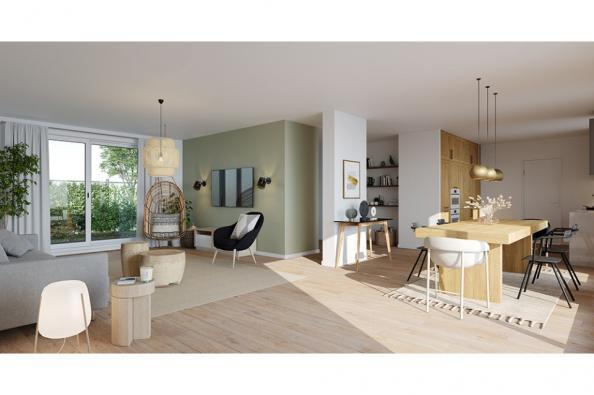 Modèle de maison Lumina 150 R+1 GI Brique 5 chambres  : Photo 2