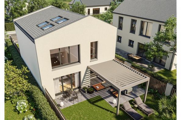 Modèle de maison Urba 122 4 chambres  : Photo 1