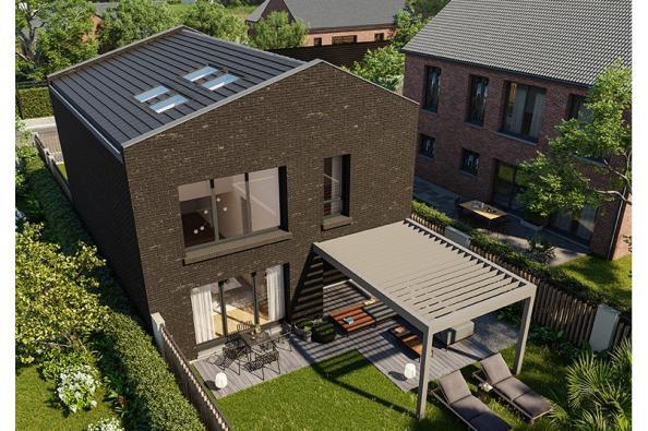 Modèle de maison Urba 122 Brique 4 chambres  : Photo 2