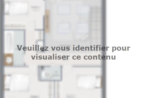 Plan de maison Urba 122 Brique 4 chambres  : Photo 2
