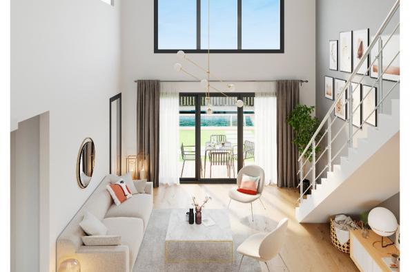 Modèle de maison Urba 122 Brique 4 chambres  : Photo 3