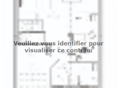 Plan de maison AM-95-ETG-R-GI 3 chambres  : Photo 1
