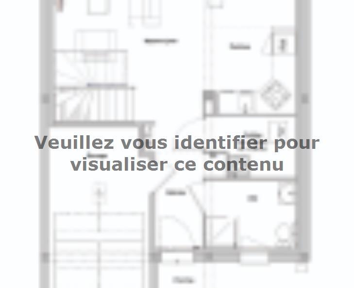 Plan de maison AM-95-ETG-R-GI : Vignette 1