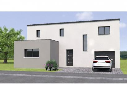 Modèle de maison R1MP19135-4GI 4 chambres  : Photo 1