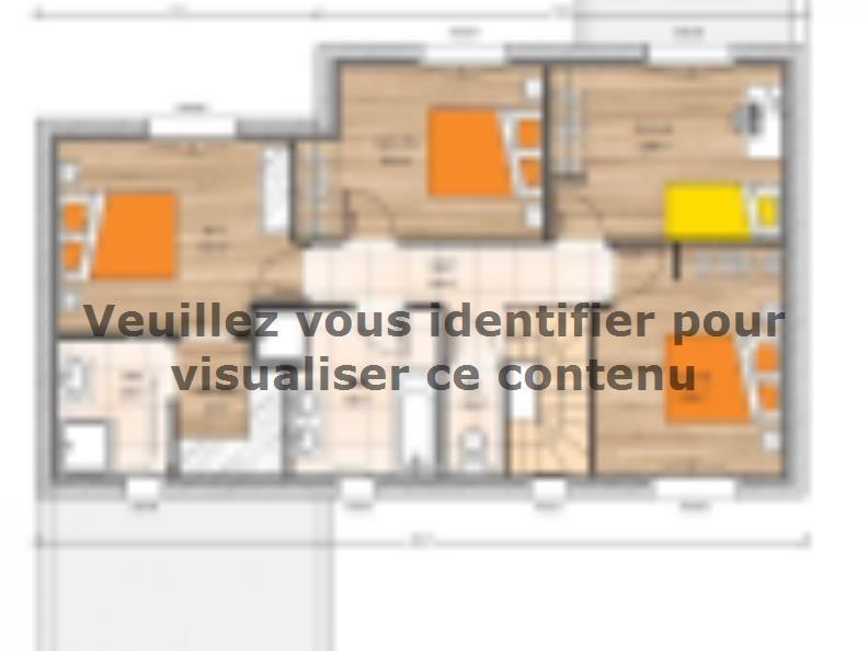 Plan de maison R1MP19135-4GI : Vignette 2