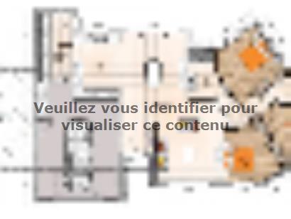 Plan de maison PPV19115-3GI 3 chambres  : Photo 1