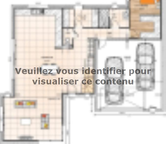 Plan de maison R119158-4GI : Vignette 1