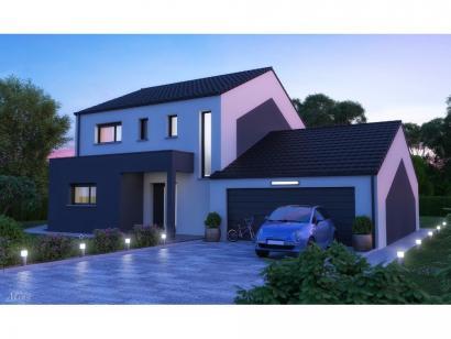 Maison neuve  à  Haucourt-Moulaine (54860)  - 289000 € * : photo 1