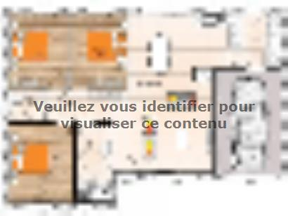 Plan de maison PP1988-3GI 3 chambres  : Photo 1