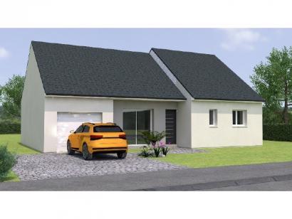 Modèle de maison PP1990-3GI 3 chambres  : Photo 1
