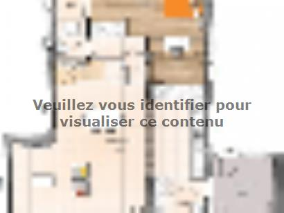Plan de maison R1TT19129-4GI 4 chambres  : Photo 1