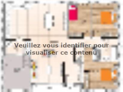 Plan de maison PP1997-3GI 3 chambres  : Photo 1