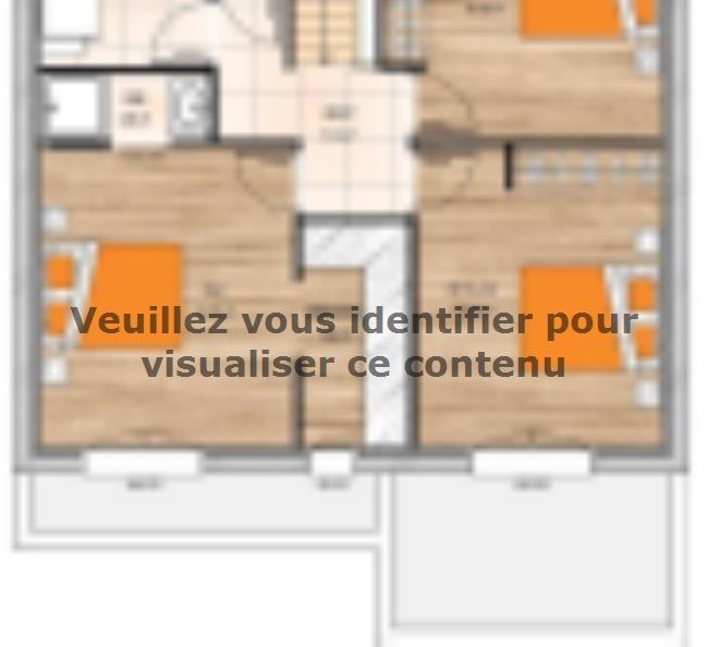 Plan de maison R119125-3GI : Vignette 2