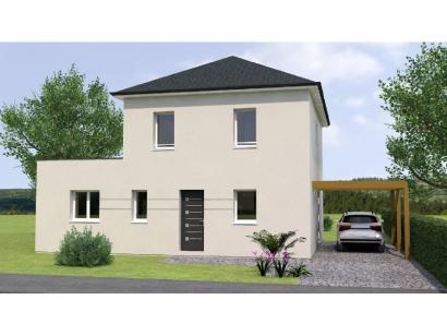 Modèle de maison R19122-4 4 chambres  : Photo 1