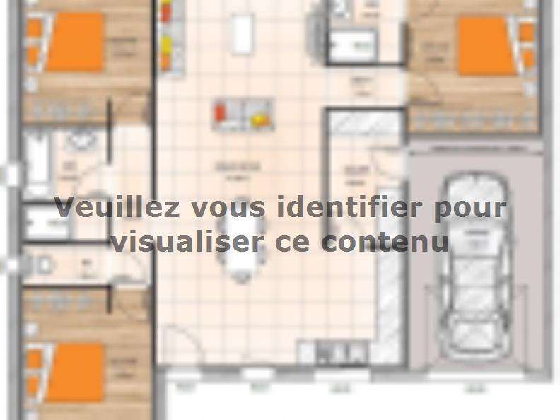 Plan de maison PP1994-3GI : Vignette 1