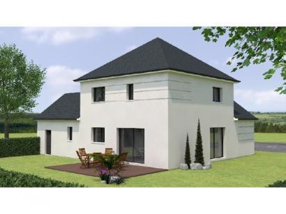 Modèle de maison R19129-4GI 4 chambres  : Photo 2
