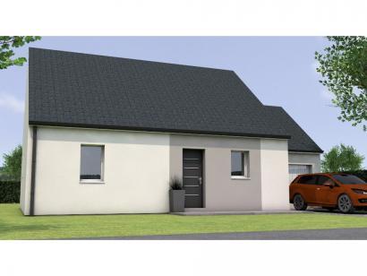 Modèle de maison PP1974-2GA 2 chambres  : Photo 1