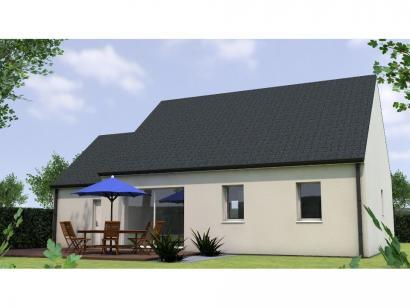 Modèle de maison PP1974-2GA 2 chambres  : Photo 2