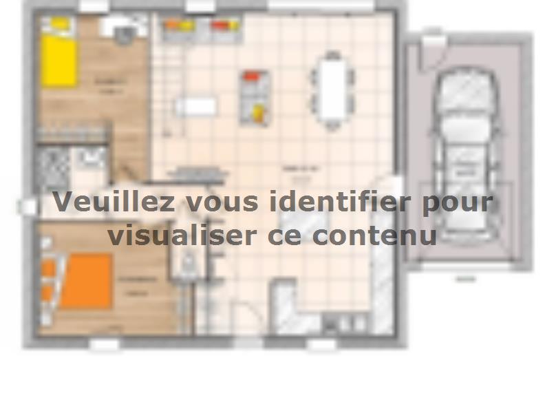 Plan de maison PP1974-2GA : Vignette 1