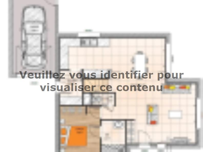 Plan de maison R119114-4GA : Vignette 1