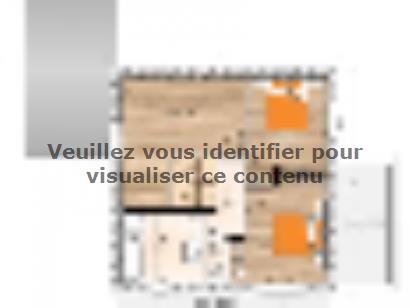 Plan de maison R119114-4GA 4 chambres  : Photo 2