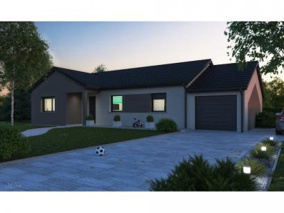 Maison neuve  à  Pommérieux (57420)  - 299999 € * : photo 1