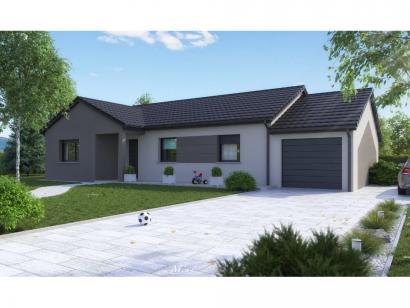 Maison neuve  à  Pommérieux (57420)  - 299999 € * : photo 3