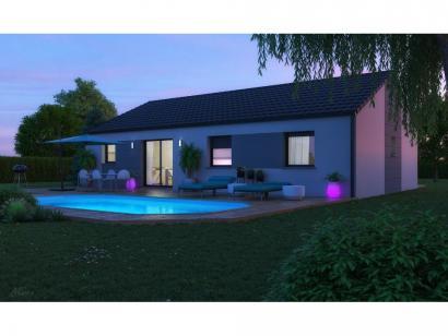 Maison neuve  à  Pommérieux (57420)  - 285000 € * : photo 2