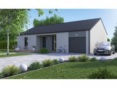 Maison neuve  à  Pommérieux (57420)  - 285000 € * : photo 3
