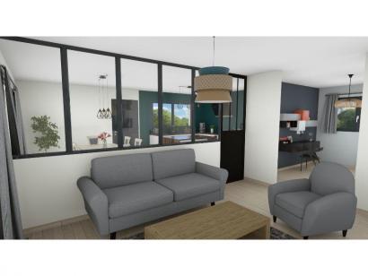 Modèle de maison PP19102-3B 3 chambres  : Photo 3