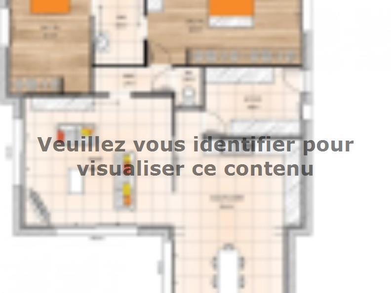 Plan de maison PP19109-2 : Vignette 1