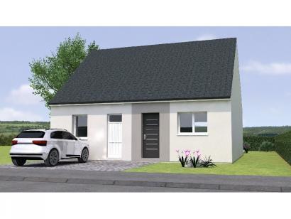 Modèle de maison RCNA1970-2 2 chambres  : Photo 1