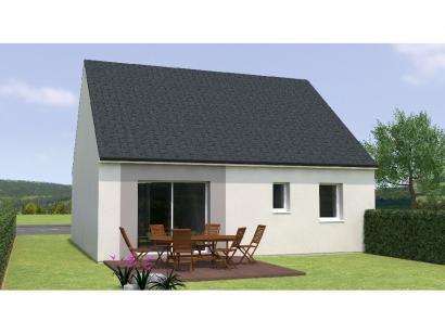 Modèle de maison RCNA1970-2 2 chambres  : Photo 2