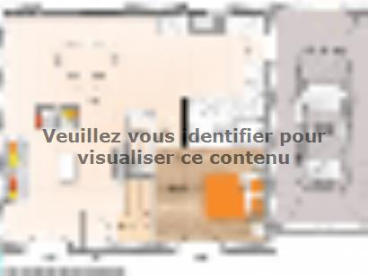 Plan de maison R119108-5GA 5 chambres  : Photo 1