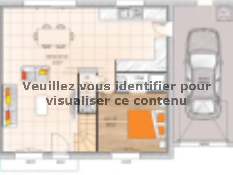 Plan de maison R119108-5GA : Vignette 1