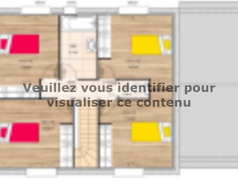 Plan de maison R119108-5GA : Vignette 2