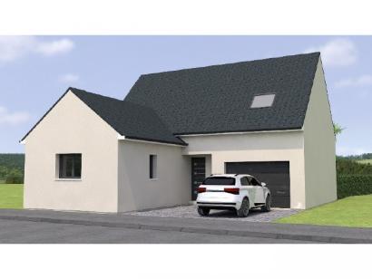 Modèle de maison RCA19110-4GI 4 chambres  : Photo 1
