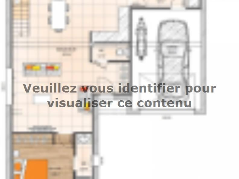 Plan de maison RCA19110-4GI : Vignette 1