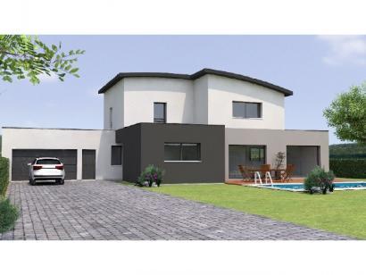 Modèle de maison R1MP19196-4GA 4 chambres  : Photo 1