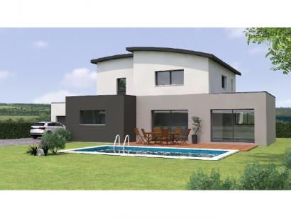 Modèle de maison R1MP19196-4GA 4 chambres  : Photo 2