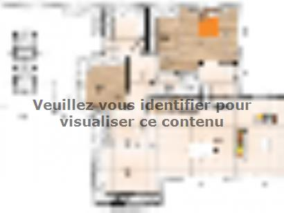 Plan de maison R1MP19196-4GA 4 chambres  : Photo 1